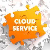 Cloud Service on Orange Puzzle.