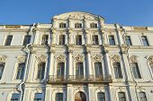 pic of palace  - The facade of the palace at the Palace Embankment in St - JPG