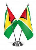 Guyana - Miniature Flags.