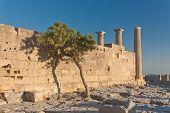 Wall of ?ncient ?reek acropolis