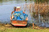 Boat Of Thai Fisherman