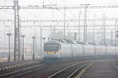 Czech Railways - Sc Super City Pendolino 680 Train
