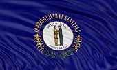 3D Kentucky Flag