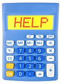 Calculator With Help