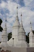 White Buddhism Pagoda