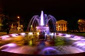 Fountain Near The Dramatic Theater, Kaliningrad, 10.05.2014