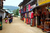 Street trading stalls in Sri Lanka, Kandy