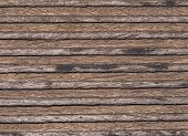 Structure of a wooden plank