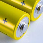 alkaline batteries macro