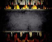 Grunge textured or background