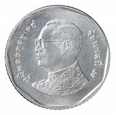 Five Thai Baht Coin