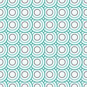 Abstract Geometric Circles Seamless Pattern