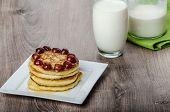 Home Fluffy Pancakes