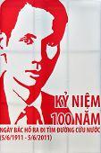 Ho Chi Minh 100 Years Anniversary Poster, Vietnam