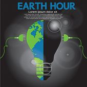 Earth Hour Conceptual.