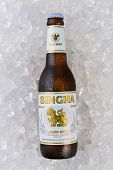 Singha Beer On Ice