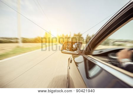 poster of Business Man Driving Fast