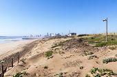 pic of mile  - dune rehabilitation taking place on Durban - JPG