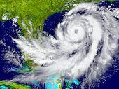 Hurricane Near Florida poster