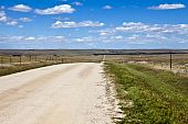 Colorado High Plains Farm Road