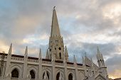 pic of southern  - San Thome Basilica Cathedral Church in Chennai - JPG