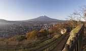 image of mount fuji  - This photo was shot from the area around Mt - JPG