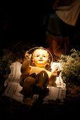 Jesus At The Manger
