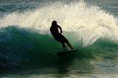 Surfer Silhouette 2
