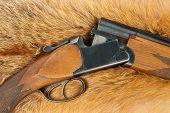 Rifle On Fur