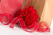 Giftbags For Valentine And Roses
