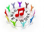 Online music