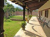 Bolivian Courtyard