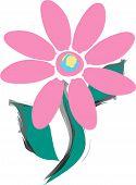 Pink Hippy Flower