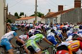 Tour De France Cycle Race Triaixe France