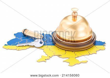 Ukraine booking concept