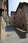 Historic center of Siena, Italy