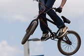 stock photo of moto-x  - A BMX  - JPG