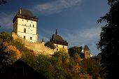 Legendary Karlstejn castle - Czech republic