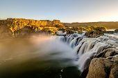 Shoshone Falls at sunrise in Twin Falls, Idaho, USA. poster