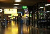Hall at Amsterdam's Schiphol Airport