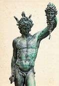 foto of perseus  - Perseus with the head of Medusa  - JPG