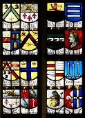 Stained Glass Window, Oude Kerk (Old Church), Amsterdam