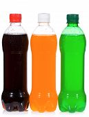 Wet Bottles With Soda