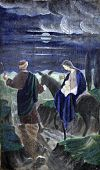 foto of christchild  - Flight to Egypt - JPG