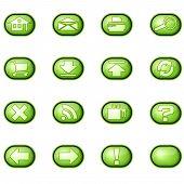 Web Icons A, Green