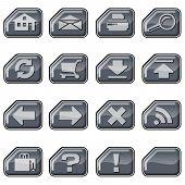 Web Icons B, Silver