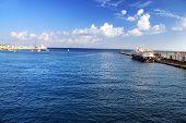 Greece. Harbor of Rhodos City