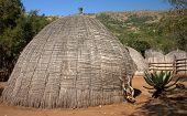 Cabana de grama africana