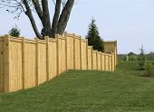 Top Rail Property Fence