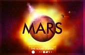 pic of earth mars jupiter saturn uranus  - Vector Solar System  - JPG